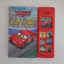 Livre musical 2006 Disney PIXAR film CARS PLAY A SOUND HEMMA Belgique N6008