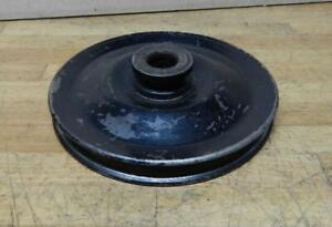 1967-71 Ford vehicles 289 302 390 428 V8 W/ A/C power steering pump pulley 7AA