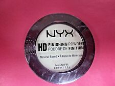 NYX High Definition Mint Green Finishing Powder, 0.09oz Travel Size, New