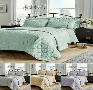 Jacquard SAVOY Luxuries Printed Duvet Quilt Cover+Pillow Case Or Runner Bed Set