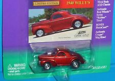 Johnny Lightning  Classic Gold Collection '40 Willys Real Riders 1940 Lot #2