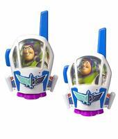 Toy Story 4 Walkie Talkies Extended Range Buzz Lightyear Disney Kids Childrens