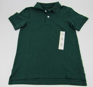 Boys Blue Polo Shirts School Uniforms Navy Green Size XS S M L XL XXL Cotton