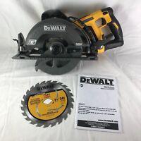 """Dewalt Flexvolt 60V DCS577 7-1/4"""" Brushless Worm Drive Style Saw Max 60VOLT(NEW)"""