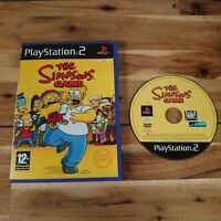 The Simpsons Game (Sony PlayStation 2, 2007) PS2 Game UK PAL