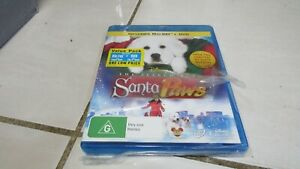 Santa Paws  Disney - BluRay + DVD - NEW & Sealed - FREE Registered Post Included