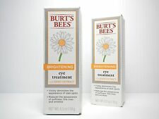 "2 BURT'S BEES BRIGHTENING EYE TREATMENT WITH DAISY EXTRACT ""ON SALE"""