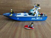 Jouet Lego City Bateau de Police Set 7287 Police Boat complet (TBE)