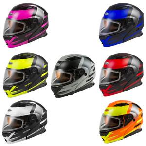 Gmax MD-01S Descendant Modular Dual Lens Shield Snow Helmet - Pick Size & Color