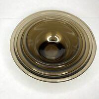 Set of 3 Pyrex Nesting Bowls Corning USA Brown - 322 1L, 323 1.5L, 325 2.5L