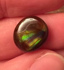 Untreated Green Fire Agate Cab Cabochon ~ Mexico