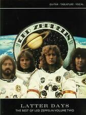 Led Zeppelin : Latter Days: (Guitar Tab) by Led Zeppelin (Paperback, 2005)