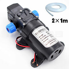 Water Pump 12v High Pressure Automatic Switch 60W Self Priming 116PSI Car Garden