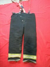 Mfg1998 Globe Traditional 42 X 30 Firefighter Turnout Bunker Pants Fire Rescue