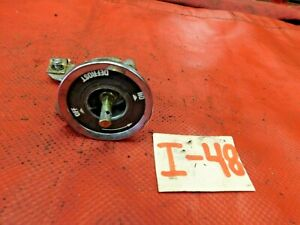 MG Midget, Sprite, MGB, Dashboard Air Rotary Control, 3/542, Original, !!