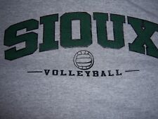 UNIVERSITY OF NORTH DAKOTA FIGHTING SIOUX VOLLEYBALL SHIRT ADULT LARGE