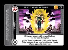 Dragon Ball Z DBZ CCG TCG Custom Panini Proxy 1 Black Rupture Drill