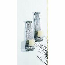2er Set Wall Mounted Candle Holder For Pillar Oriental
