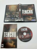 Sony PlayStation 2 PS2 CIB Complete Tested Tenchu: Fatal Shadows Ships Fast