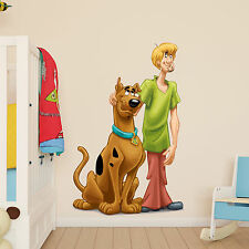 Scooby doo and Shaggy Kids Boys Girls bedroom Wall decal Art Window Sticker Gift