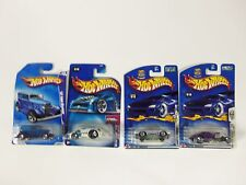 Lot of 4 Hot Wheels Mixed Assorted Carded Cars 2002 2003 2008 Corvette Stingray