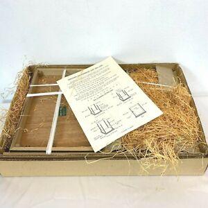 Vintage Nishi Geisha Doll CASE ONLY Unused in ORIG BOX dated 1973 Japan NOS BSH