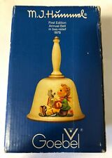 """New listing Hummel 1st Annual Bell 1978 """"Let's Sing"""" Goebel W. Germany marked 1st Ed. w/Box"""