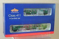 BACHMANN 31-425 BR SR SOUTHERN CLASS 411 4CEP DMU LOCO 4 CAR SET 7105 DCC nj