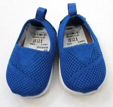 TOMS Baby Boys Slip-On Casual Shoes Size 2 Blue NEW