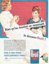 Publicité Advertising 097  1957  la Lessive Persil   peignoir de bain