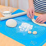 Silicone Baking Pastry Rolling Mat Non-Stick Rolling Dough Mat with Measurements