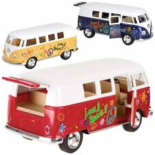 1962 VW Volkswagen Classic LOVE PEACE Bus 1:32 diecast model (1 per order )