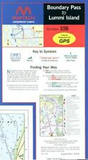 Boundary Pass to Lummi Island Waterproof Chart