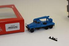 Herpa 308106 IFA G5 kranfahrzeug, Blu 1:87 H0 NUOVO in scatola originale