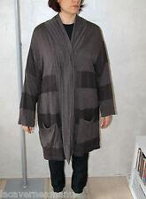 gilet veste cape bi matière ALAIN WEIZ taille 52 FR NEUF AVEC ÉTIQUETTE val 160€
