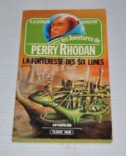 PERRY RHODAN No.6 La Forteresse des Six Lunes French BOOK Fleuve Noir 1980s