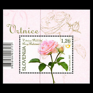 "Slovenia 2017 - Flora ""Roses"" - MNH"