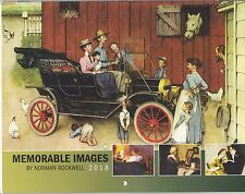 NORMAN ROCKWELL MEMORABLE IMAGES 2018 WALL CALENDAR NEW