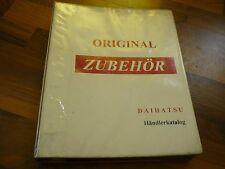 Daihatsu Original Zubehör Händlerkatalog + Preislisten Felgen Karosserie Radio