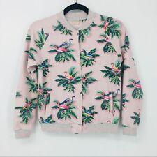 Zara Girls Sz 11/12, Pink Flamingo Bomber Jacket