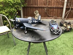 BBi Elite Force 1:18 F4U Corsair USNavy Daisey Jane Fighter Plane