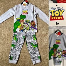 Tu Disney TOY STORY Buzz Lightyear, Woody, Cotton Pyjamas 2-3 Years - Brand New!