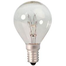10 x Maxim Golf Ball 60w CLEAR Light Bulb SES E14   Small Screw