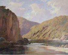 Leonard Long, Braidwood North, N.S.W. At The River,  Original Art Print.