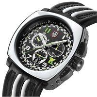 Luminox Land A.1143 Tony Kanaan Big Date Chronograph 1140 Men's Leather Watch