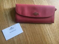 Coach Slim Envelope Leather Wallet F52689 RRP £175