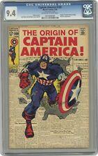 Captain America #109 CGC 9.4 1969 0014008008
