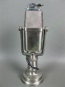 VINTAGE 1940s Comoys of London Microphone Cigarette Lighter Japan Mic Sparks! NR