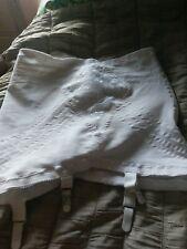 "Rago style 1361 White bottom Open Girdle Size XL (32"") suspender belt"
