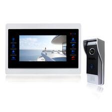 New Door Monitor Video Intercom Home Door Phone Recorder System SD/TF Card